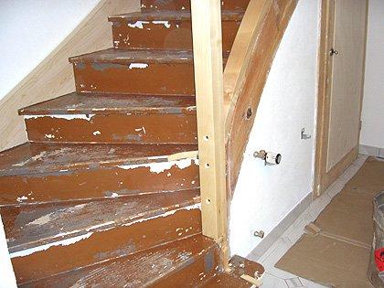Holztreppe Renovieren Fabulous Alte Holztreppen Zu Renovieren Ist